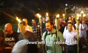 """Jews will not replace us."""