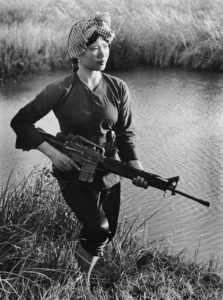 Viet Cong Female Fighter