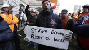 Union Workers on Strike